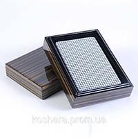 Карты в деревянной коробке 10,5х7,5 см