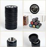 Термос - гуртка Шини 300 мл зелений, срібло., фото 7