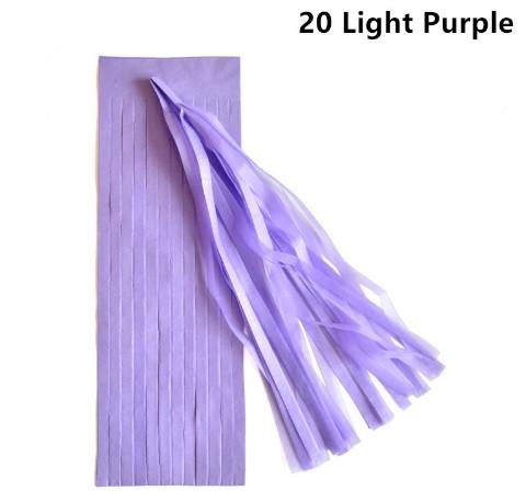 Кисть тассел лаванда 35 см длина (собрана)
