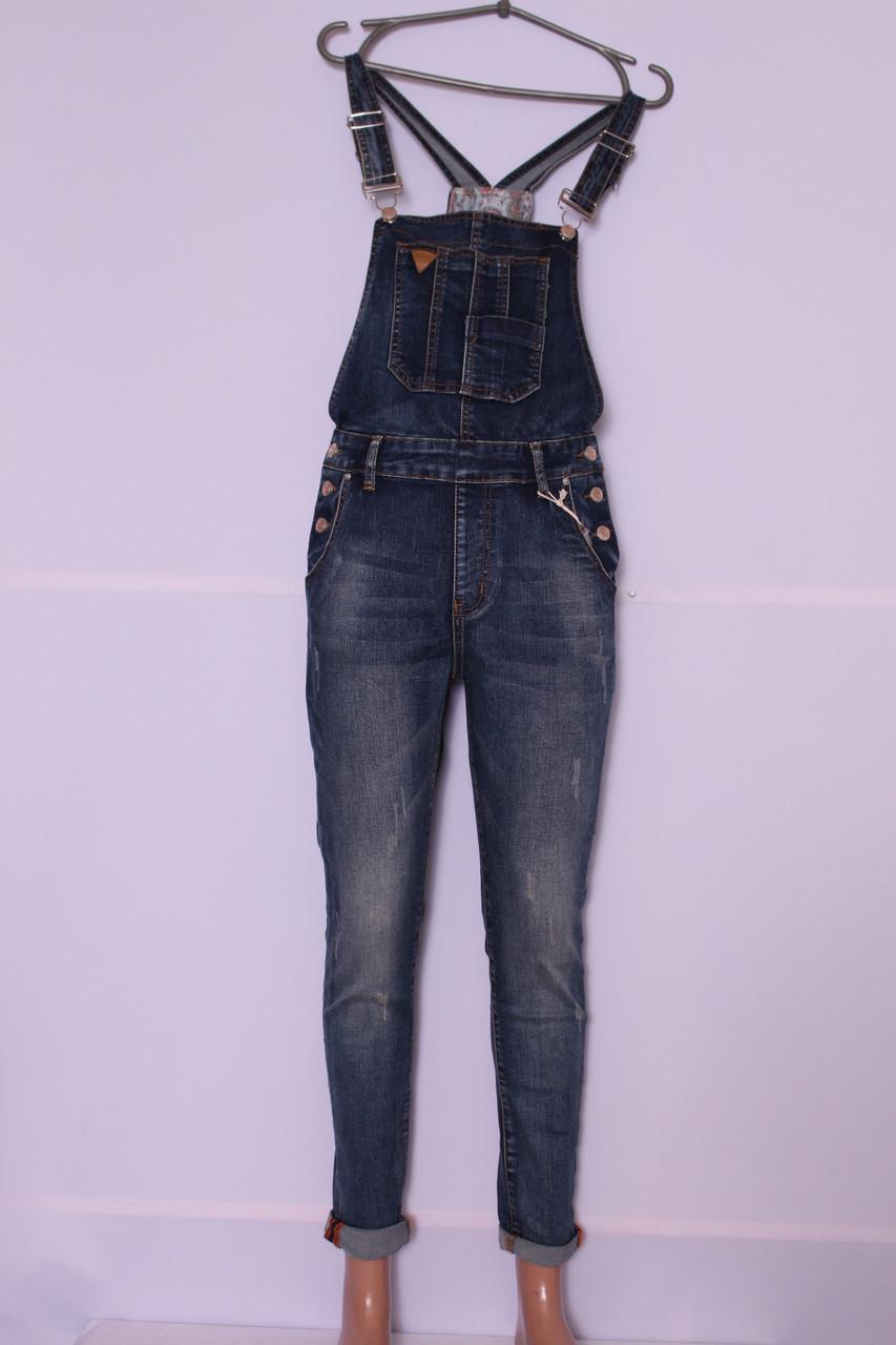 Женский джинсовый комбинезон M.Sara (код 3507)размер 31