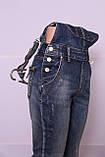 Женский джинсовый комбинезон M.Sara (код 3507)размер 31, фото 5