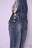 Женский джинсовый комбинезон M.Sara (код 3507)размер 31, фото 6
