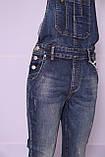 Женский джинсовый комбинезон M.Sara (код 3507)размер 31, фото 7