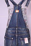 Женский джинсовый комбинезон M.Sara (код 3507)размер 31, фото 9