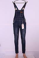 Модный женский джинсовый комбинезон M.Sara (код 3506)26-32 размер, фото 1
