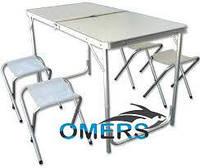 Набор туристический складной Verus  (стол + 4 стула), фото 1