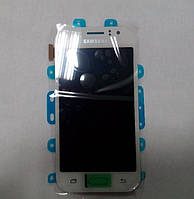 Модуль (дисплей + сенсор) Samsung J110 Galaxy J1 Ace white original