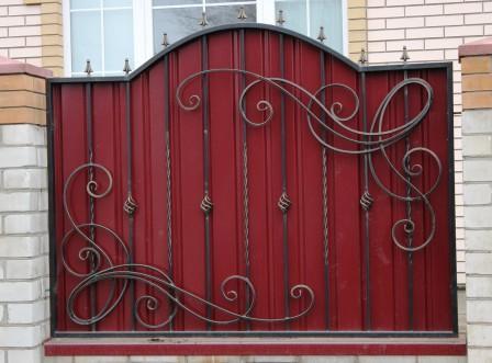 забор с покраской и установкой 780 гр. м.2