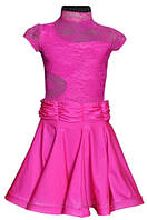 Рейтинговое платье, бейсик для танцев цвет коралловый