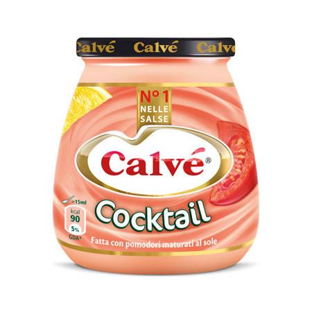 Соус Calve Сocktail с добавлением томатов и сока лимона, 250 гр.