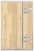 Шкаф-купе двухдверный C2/34 1200x600x2400
