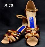 Туфли танцевальные женские латино сатин декоративная пряжка!, фото 2
