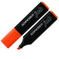 Маркер текстовый Schneider JOB S1506 оранжевый