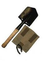 Лопатка саперная армейская с чехлом