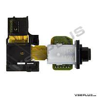 Шлейф Sony D6502 Xperia Z2 / D6503 Xperia Z2, с разъемом на наушники, с датчиком приближения