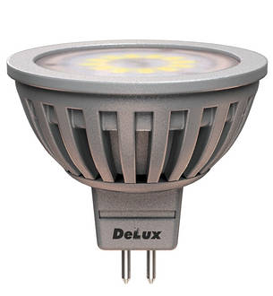 Светодиодная лампа DELUX JCDR 5 Вт, фото 2