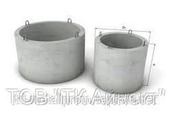 Колодцы железобетонные сборные ККС, кольца железобетонные для колодцев, жби цена, купить, размеры ККС-5-80