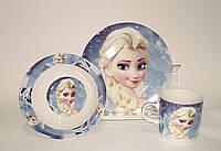 """Набор детской посуды керамика Эльза """"Холодное сердце"""""""