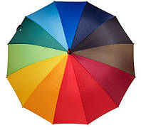 Зонт трость радуга 16 спиц Filing Rain