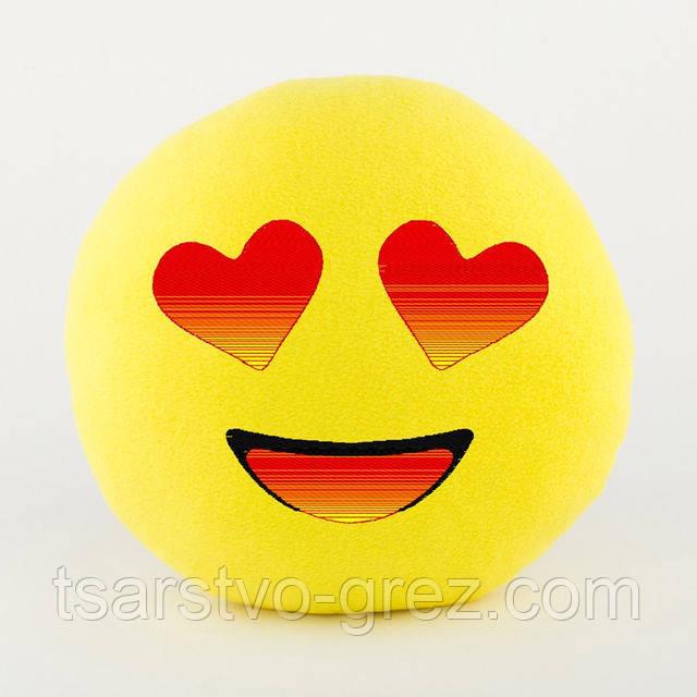 Подушка Смайлик Влюблённый