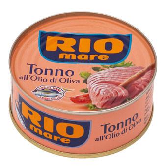 Тунец в оливковом масле Rio Mare All'Olio di oliva, 100 гр.