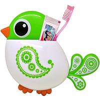 Держатель для зубных щеток и пасты Птичка, фото 1