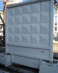 Плита забора 6000*2500 плиты для заборов железнобетонные, купить цена