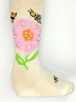 Колготы De Melatti 3D с цветком для девочки
