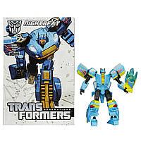 Transformers Трансформеры Поколений Люкс Класса Generations Deluxe Class Nightbeat Figure, фото 1