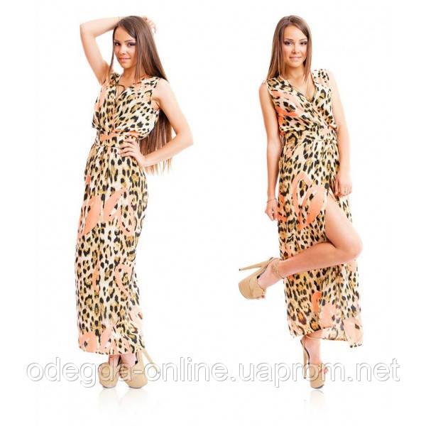Платье женское макси