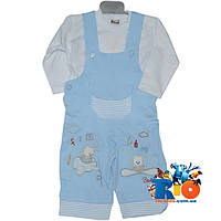 """Детский костюм-двойка """"Baray Kids Wear"""" , трикотажный , для мальчика рост 62-68 см"""