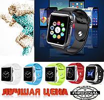 """Умные часы Android """"Smart Watch A1"""". Все функции, часы с камерой"""