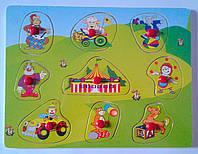 Рамка-вкладыш Веселый цирк D59 Китай