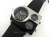 Часы Alberto Kavalli а стиле Diesel серебро с черным, фото 1