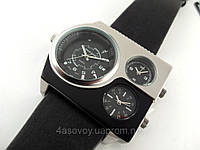 Часы Alberto Kavalli а стиле Diesel серебро с черным