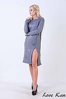 Женское Платье из шерсти с кольцами