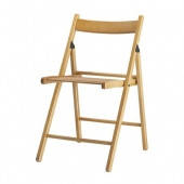 Раскладной деревянный стул полиуретановый лак