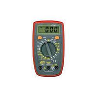 Тестер 33 C DT,  зумер, тестирование диодов, транзисторов