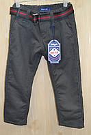 АКЦИЯ!Котоновые утеплённые штаны на флисе для мальчиков.Размеры 4-12.Фирма GOOD KIDS