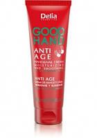 Крем для рук і нігтів зволожуючий, розгладжуючий GOOD HAND ANTI AGE, 100 мл Delia Cosmetics