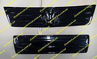 Зимняя накладка радиатора,утеплитель на Volkswagen Caddy (ФольксВаген Кадди) глянец