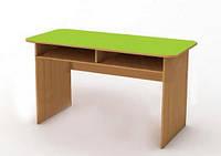 """Детский стол двухместный """"Мышонок"""" с полкой 100х45 см."""