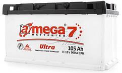 Аккумулятор Автомобильный 105 A  (105 Ач) (Амега) A-MEGA Ultra