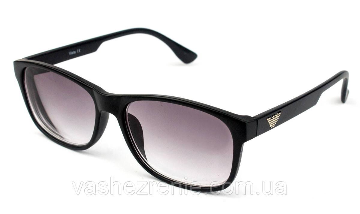 Очки для зрения с диоптриями +/-, солнцезащитные Код:116-2
