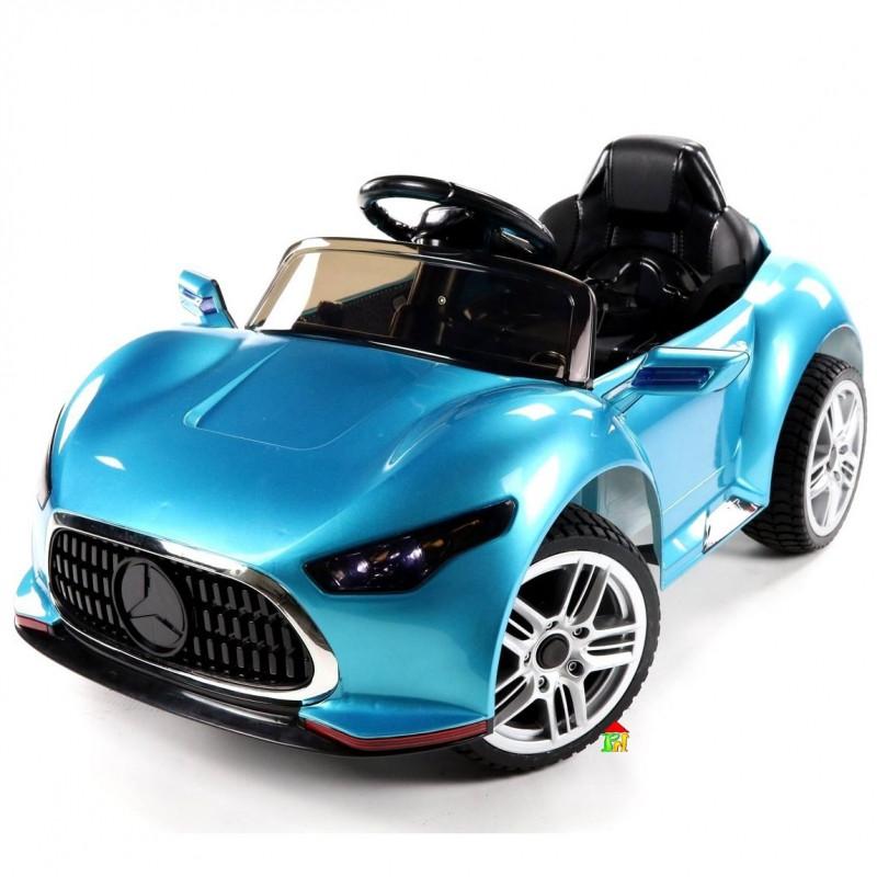 Детский электромобиль  Cabrio GT: 2.4G, EVA, 90W - Бирюзовый покраска (6599983217)- купить оптом
