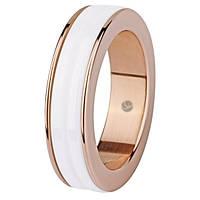 Женское  кольцо из керамики  charming ceramic позолота