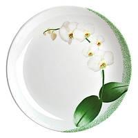White Orchid Тарелка десертная круглая 19 см Luminarc J7494