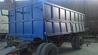 Изготовление и наращивание бортов грузовиков, прицепов