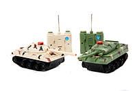 Радиоуправляемый боевой танк play smart 9672 муз свет 2. в коробке 27*8*22 см