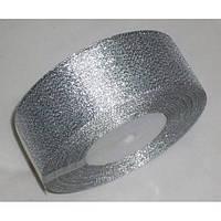 Лента парча 5 см - 23 м (серебро)